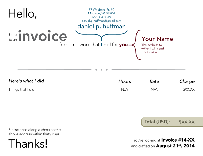 Soulfulpowerus  Ravishing Invoice Template  Somethingaboutmaps With Interesting People Seem To Like The Look Of My Invoice So I Thought Id Put It Up Here Theres No Reason For Business Forms To Be Dull With Appealing Template Of Invoice For Services Also Cheap Invoicing Software In Addition What Is An Invoices And Parking Invoice Ticket As Well As Late Invoice Payment Additionally Uk Invoice Templates From Cargocollectivecom With Soulfulpowerus  Interesting Invoice Template  Somethingaboutmaps With Appealing People Seem To Like The Look Of My Invoice So I Thought Id Put It Up Here Theres No Reason For Business Forms To Be Dull And Ravishing Template Of Invoice For Services Also Cheap Invoicing Software In Addition What Is An Invoices From Cargocollectivecom